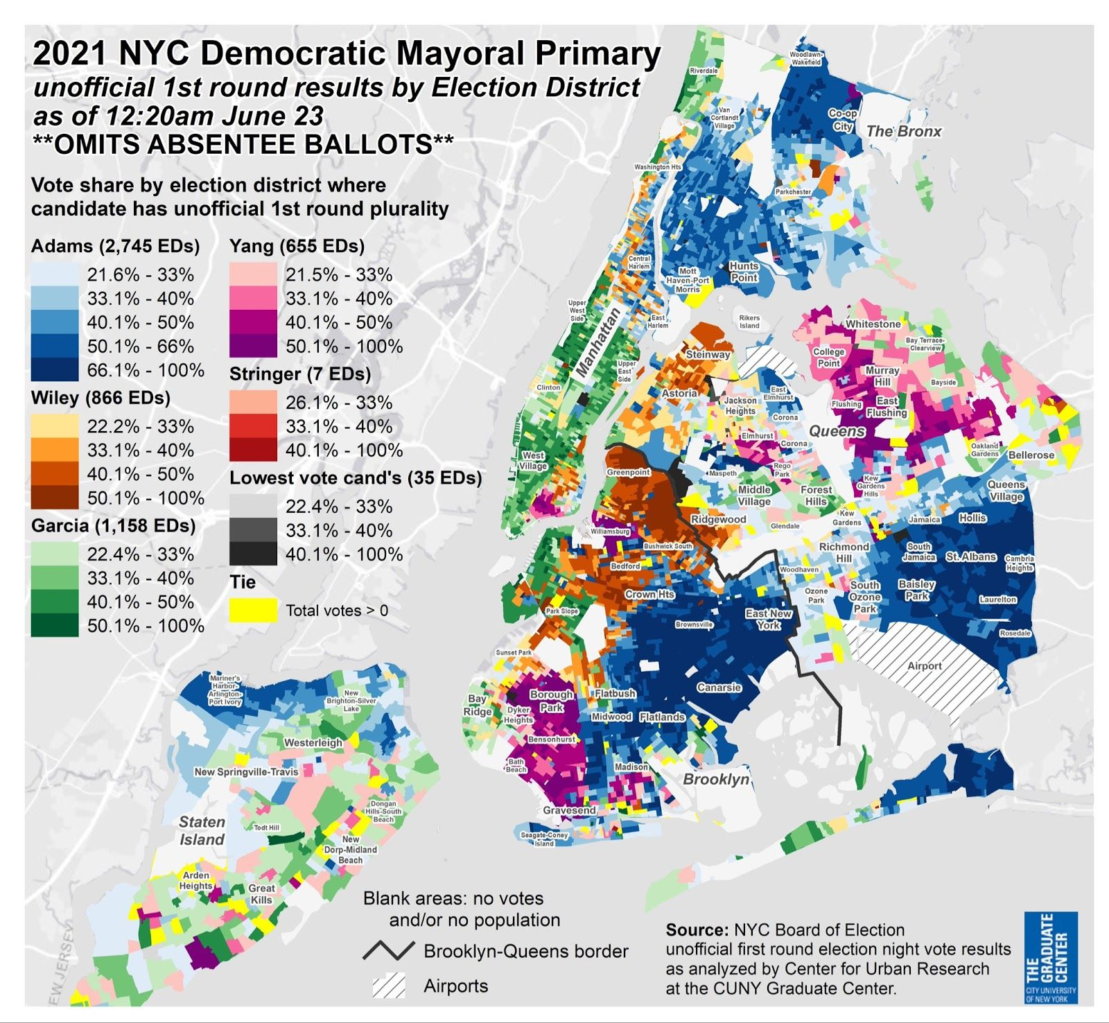 The Next Mayor Will Be From Brooklyn, And Other Takeaways From Tuesday's Primary