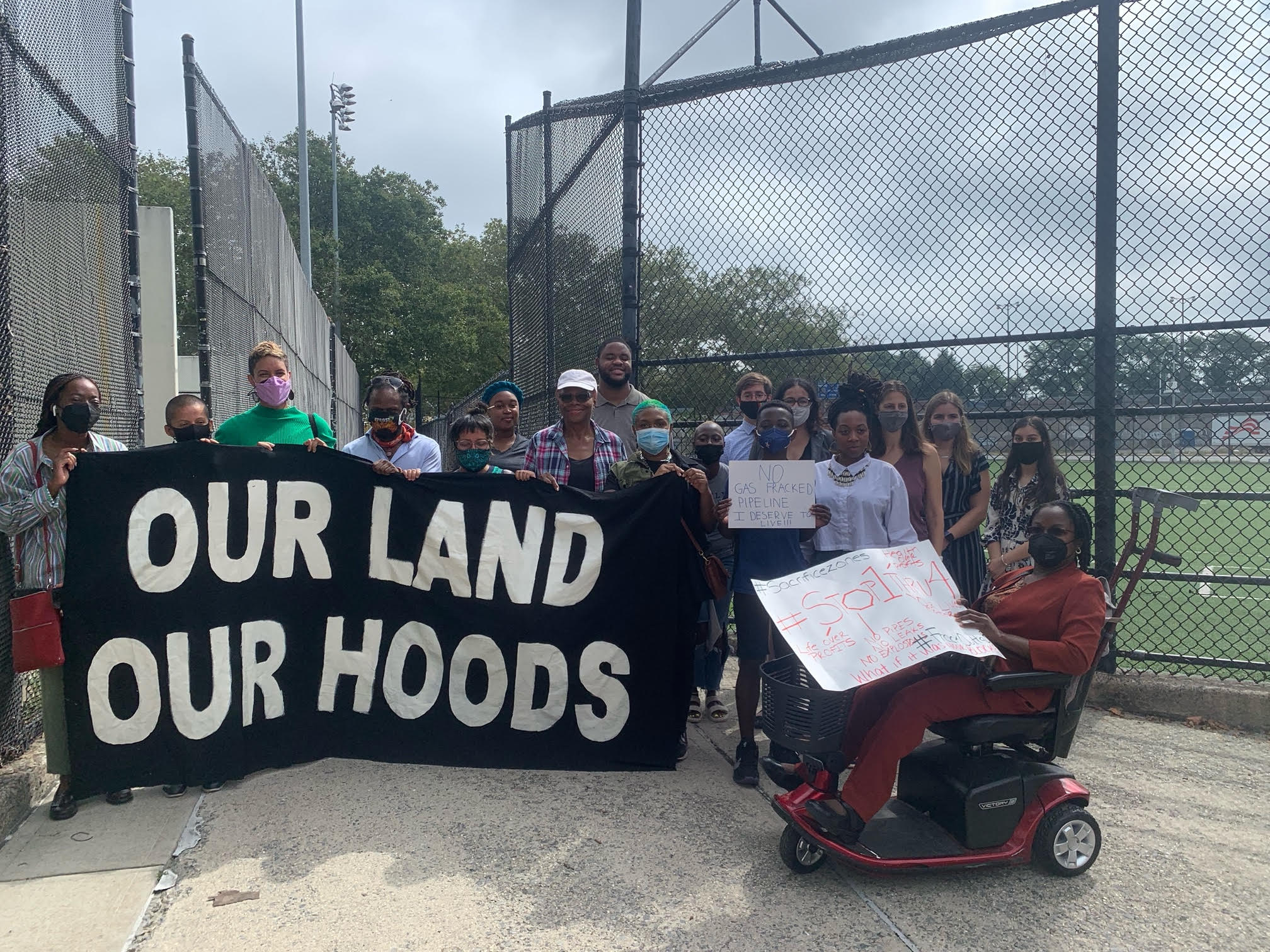 Activist Groups Ask Biden Administration to Cut the Gas on Brooklyn Pipeline Project